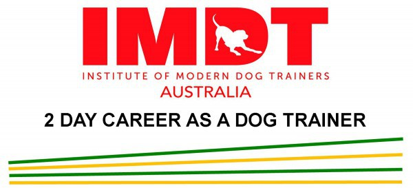 IMDT 2 DAY CAREER AS A DOG TRAINER