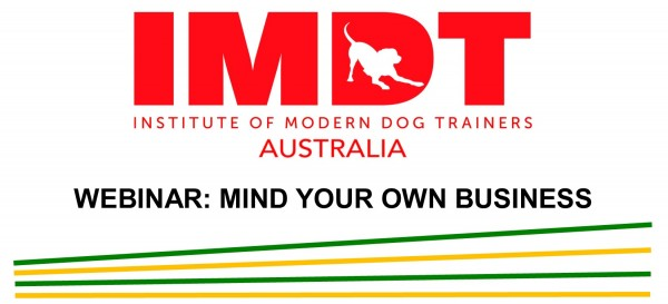 IMDT WEBINAR MIND YOUR OWN BUSINESS