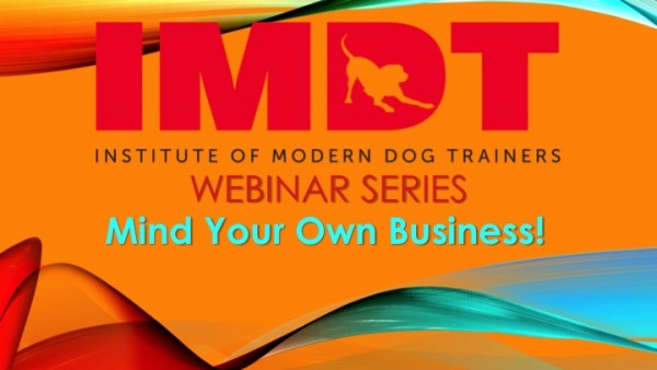 Webinar: Mind Your Own Business